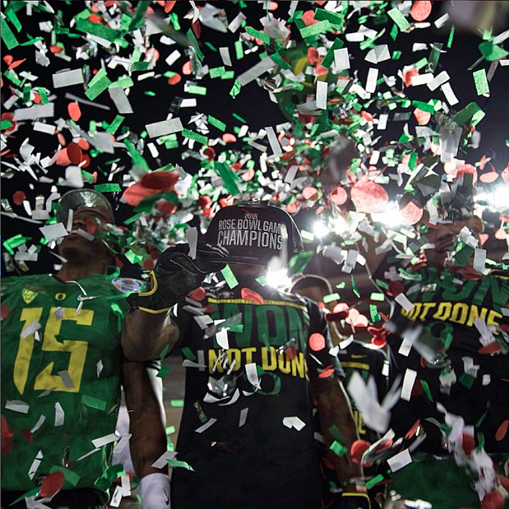 Rose Bowl Confetti Dreams