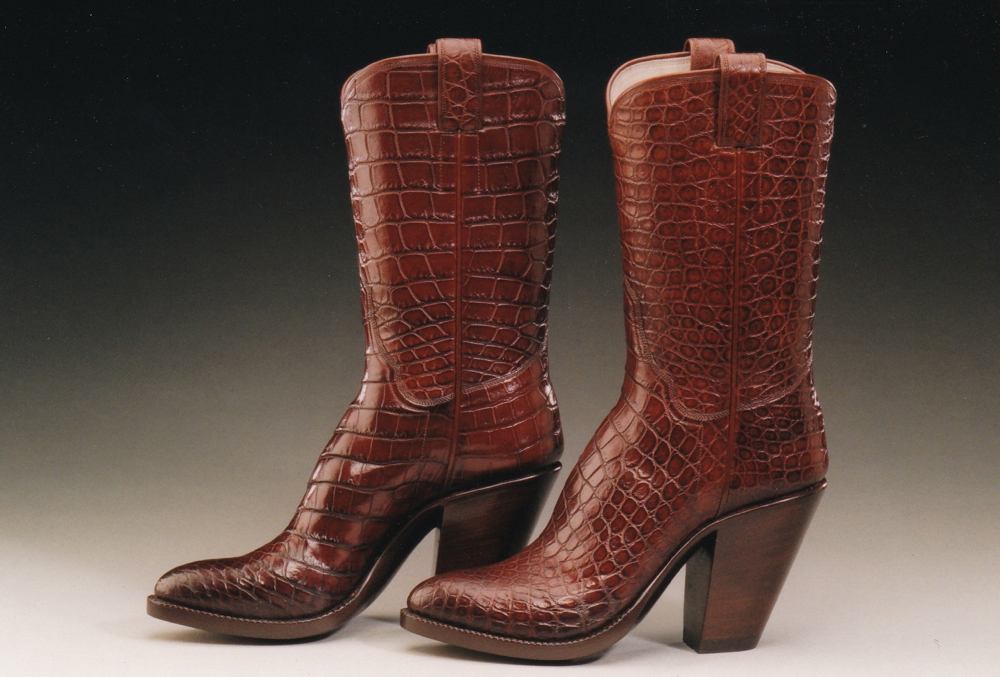 High Heel Custom Western Boot