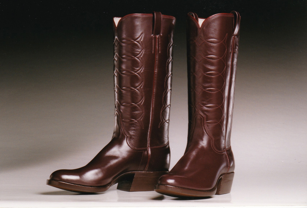 Custom Made Calf Leather Boots