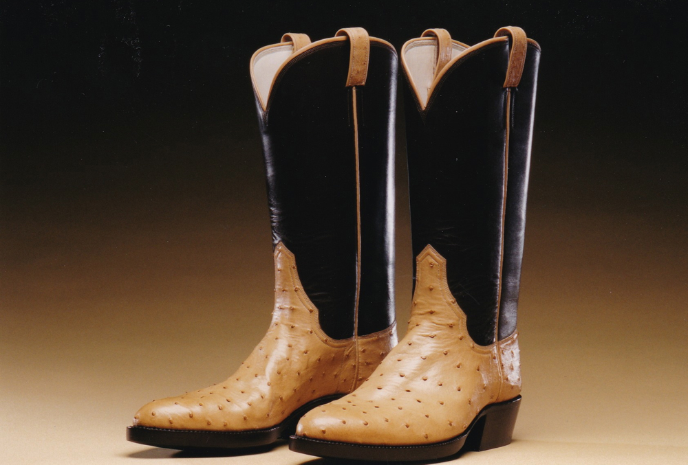 Custom made Western Boots by bootmaker Michael Anthony Carnacchi in Sebastopol, CA, Sonoma County, Wine Country.