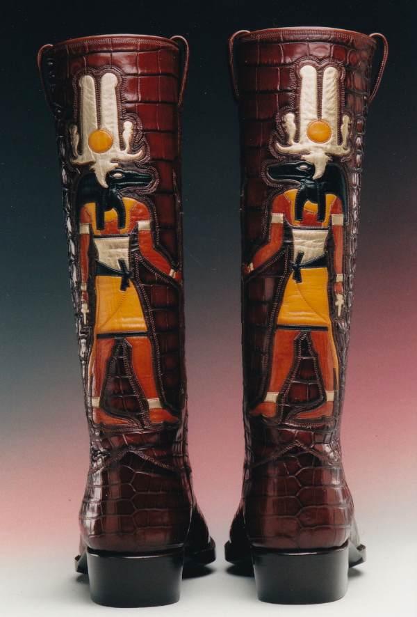 Full Length Sobek Egyptian God Boot