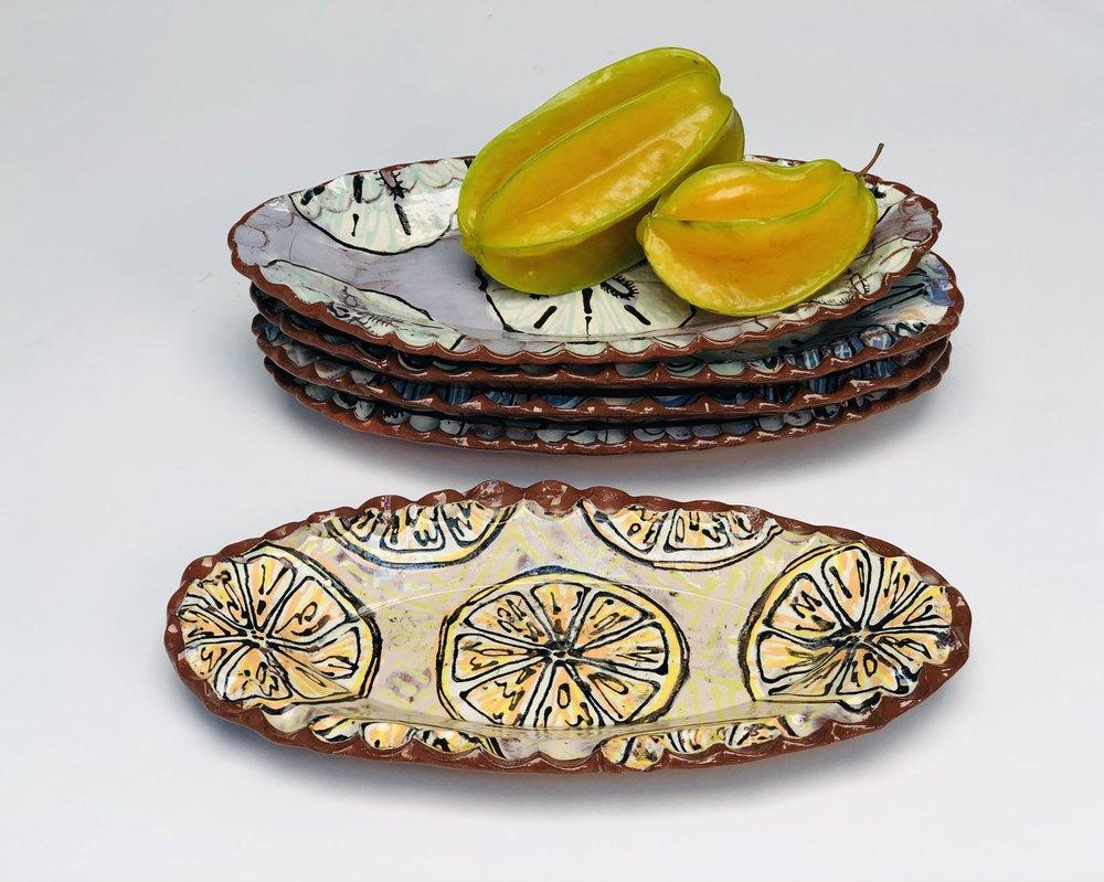 Orange Slice | Oval SML $35