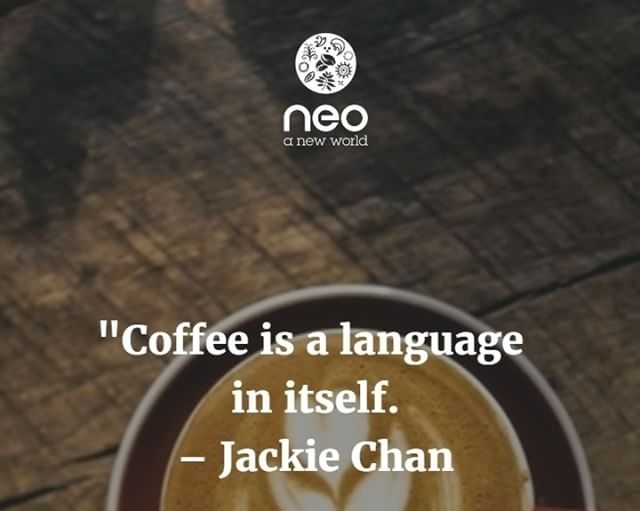 What do you think is the true language of coffee? Sip sip or brewish #mycafeneo