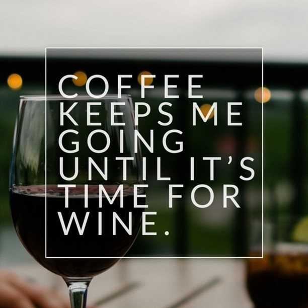 Coffee has kept us till #winetime. #mycafeneo #tgif