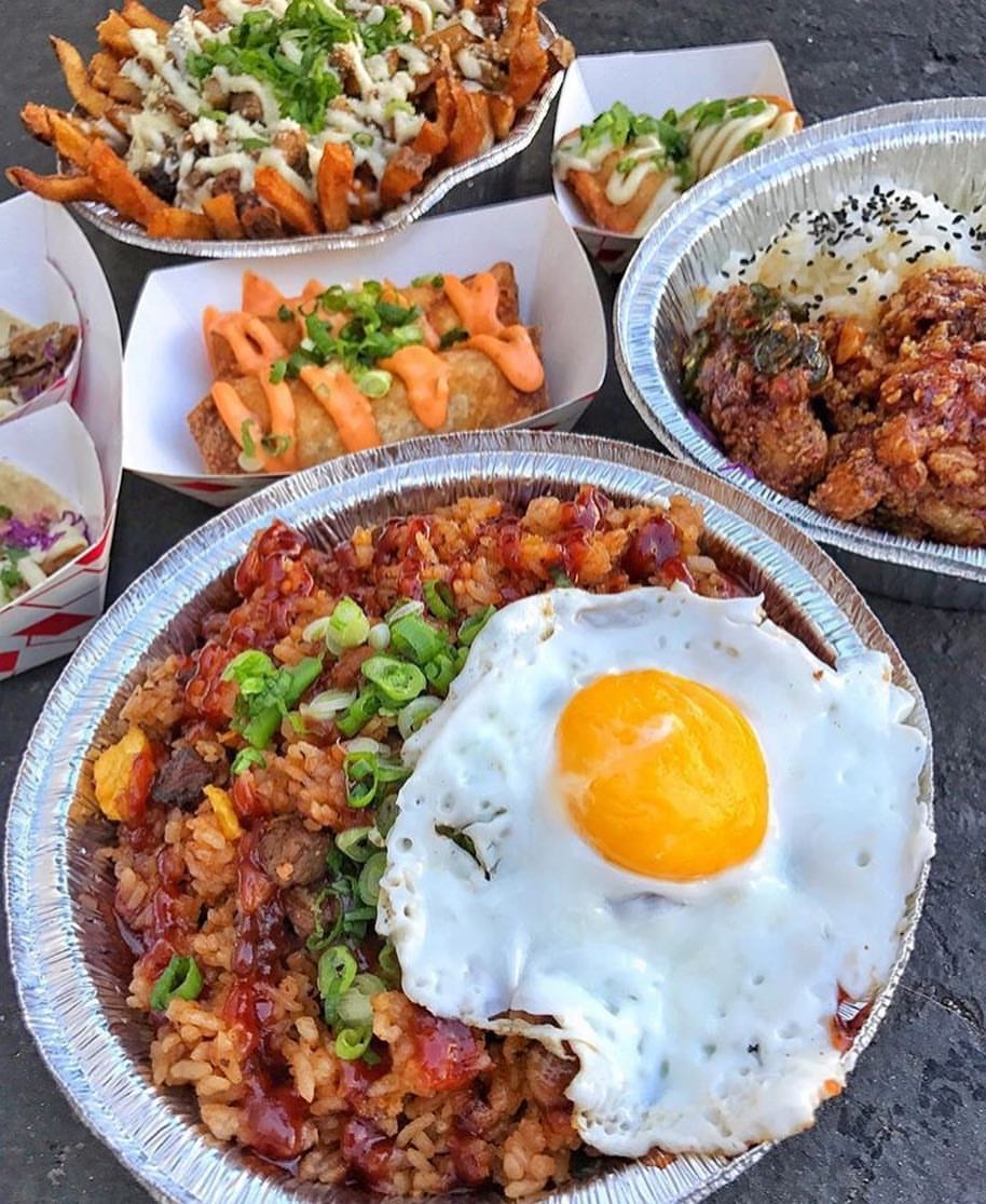 Chubbee Monkee - This first time vendor is a food truck and will bring out their bomb garlic shrimp with garlic rice, smoked brisket fried rice, Jungle Fries (smoked brisket, salsa verde & garlic sauce) and Monkee Wings with rice (chili garlic soy glazed wings). Welcome to the Night Market Family!