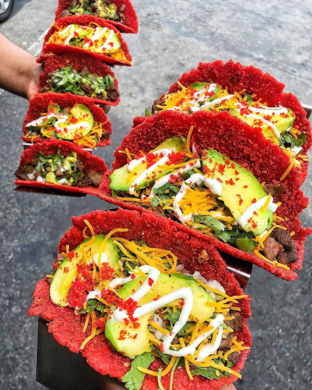 Paraiso Juice Bar - They call themselves the home of the Flaming Hot Cheeto Taco! Their Mexican food with a twist will include a menu of Hot Cheeto Tacos, Cali Hot Cheeto Burritos, Hot Cheeto Elotes, Hot Cheeto Esquites (Mexican street corn salad) and Chicharines (wheat sealed snacks). Bring on the fire 🔥🔥