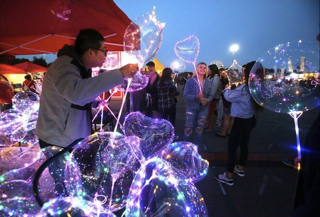 OC Night Market stocks up on food, entertainment and more - MAY 19, 2018 | LA TIMES