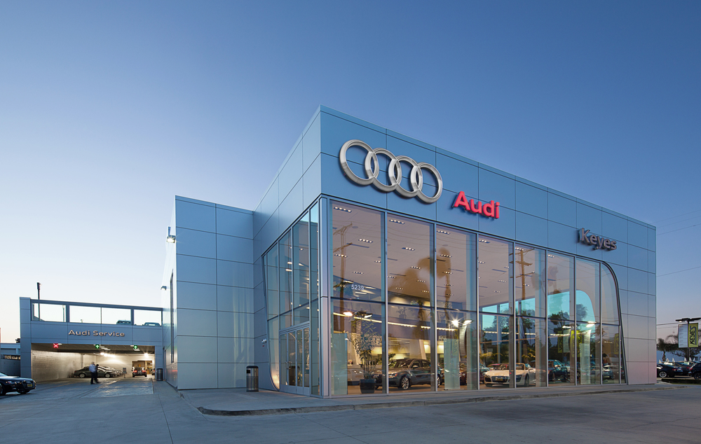 Projects Dennis Flynn Architects - Keyes audi