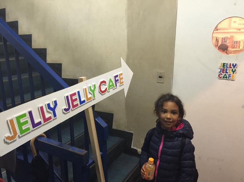 Jelly Jelly Cafe entrance