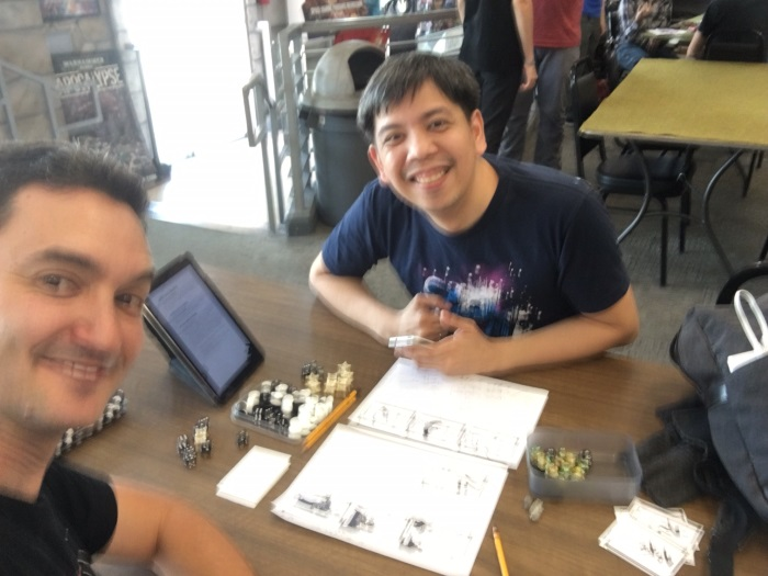 A blurry pic from Game Empire playing A Single Moment