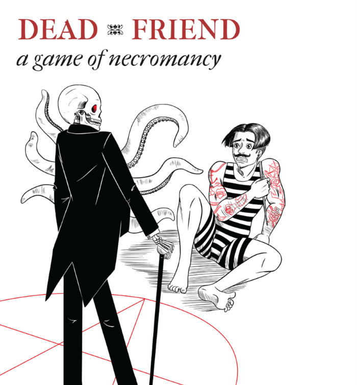 Grab it here:  https://www.drivethrurpg.com/product/234653/Dead-Friend-A-Game-of-Necromancy