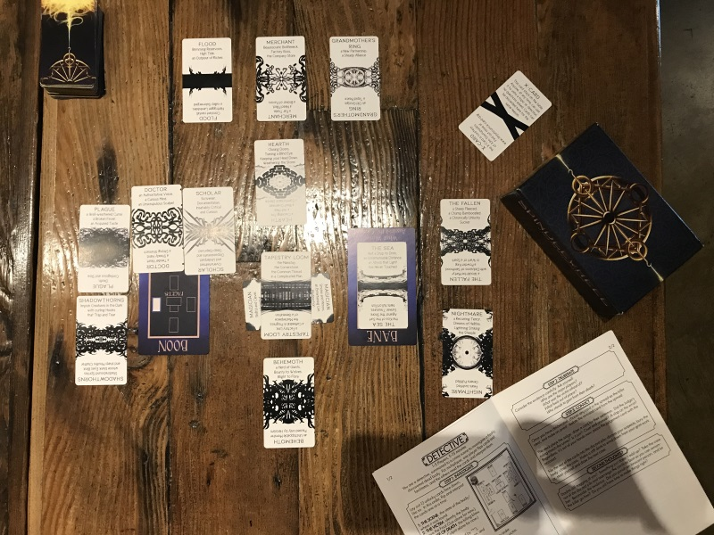 Spindlewheel Microgame: Detective