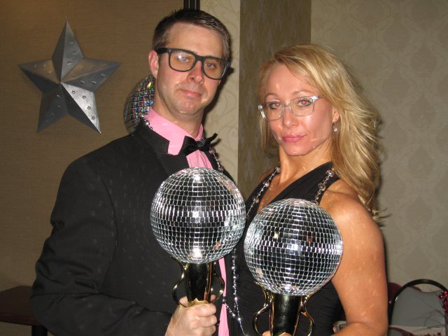 Winners of the First Annual Dancing With Local Stars Event | Cornerstone Foundation | 2011
