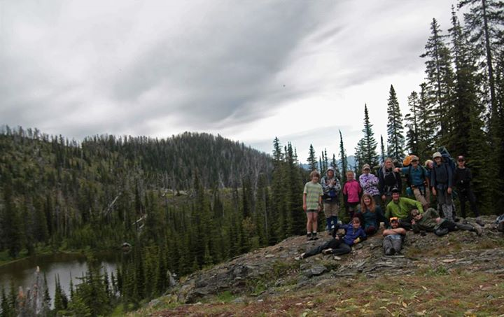 Teaching Children Backpackpacking and Backcountry Skills in The Flathead National Forest of Montana