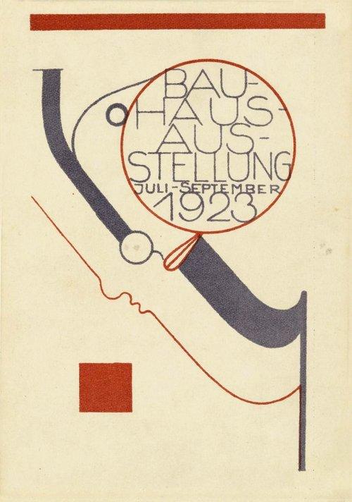 Oskar Schlemmer – Postcard for the Bauhaus Exhibition, Weimar, Germany 1923