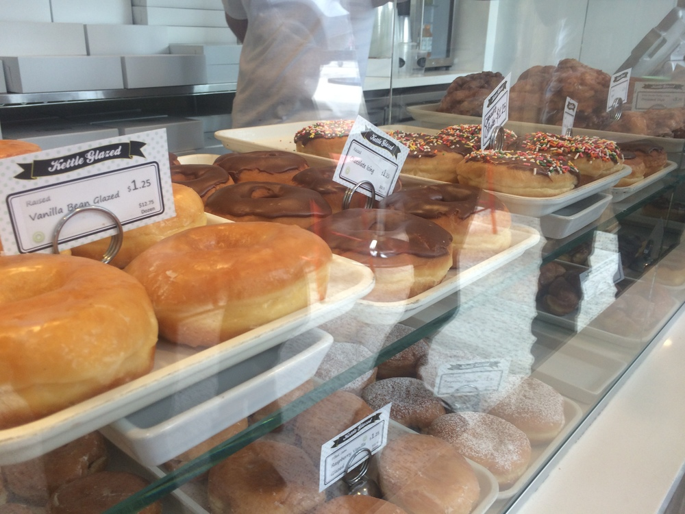 A case at Kettle Glazed Donuts