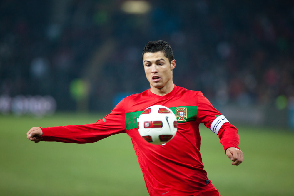 """""""Christiano Ronaldo""""(CC BY 2.0)by Ludovic_P"""