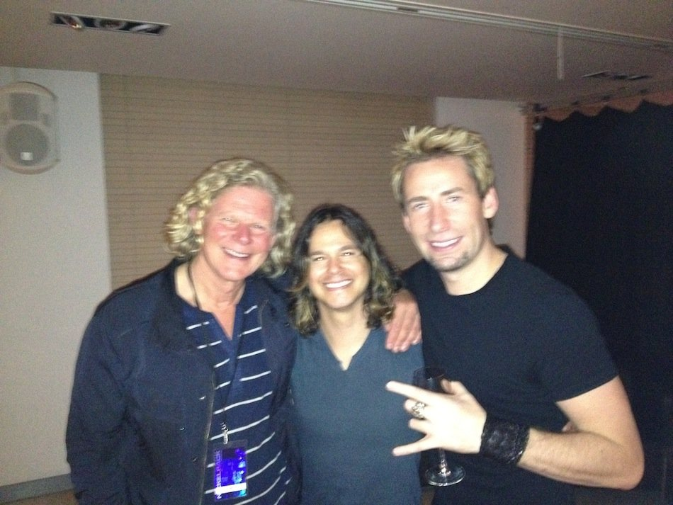 Mutt Lange Robin Diaz and Chad Kroeger
