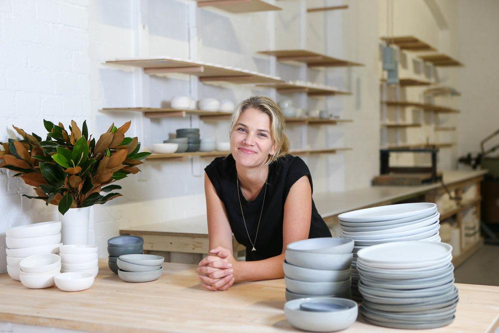 Naomi Taplin of Studio Enti            Image credit: Katherine Griffiths