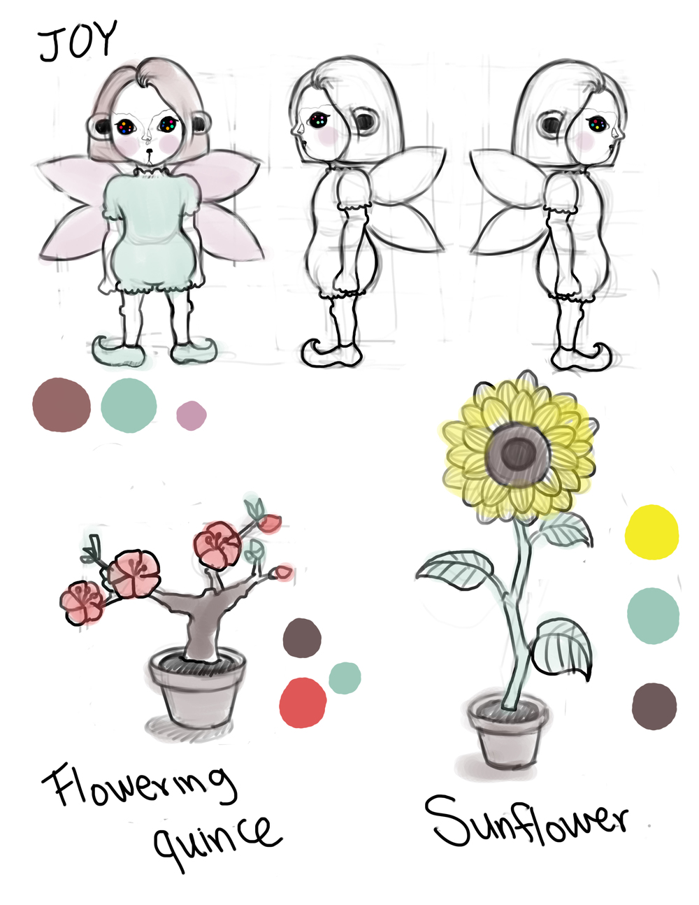 Bloom: Character design