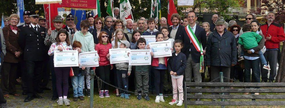 Collebeato (BS) si aggiunge alla campagna Global Wave 2015 . Che belle foto che ci ha mandato il Sindaco Antonio Trebeschi. Grazie! Il nostro ADDIO, per sempre, alle armi nucleari sta davvero raggiungendo il mondo intero.