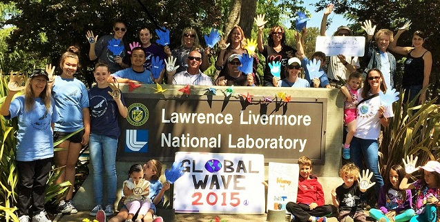 Global Wave at Livermore Lab