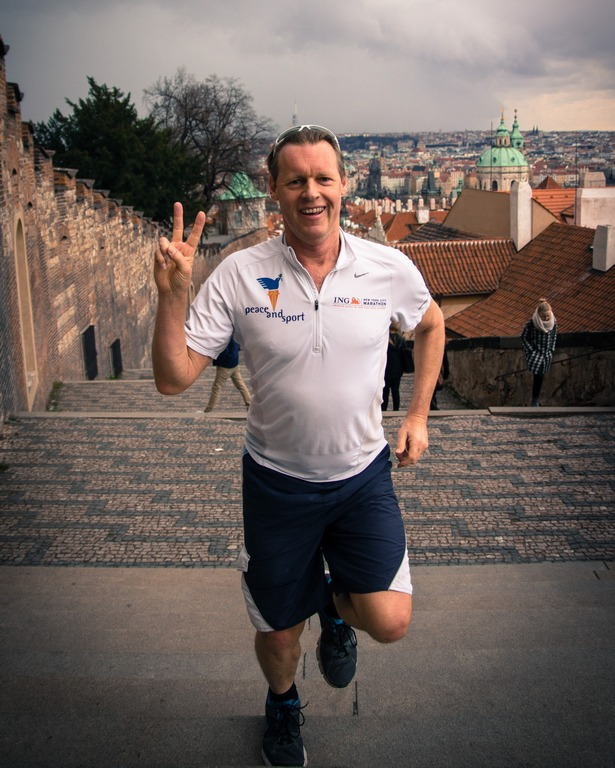 Alyn running Prague steps Apr 6.jpg