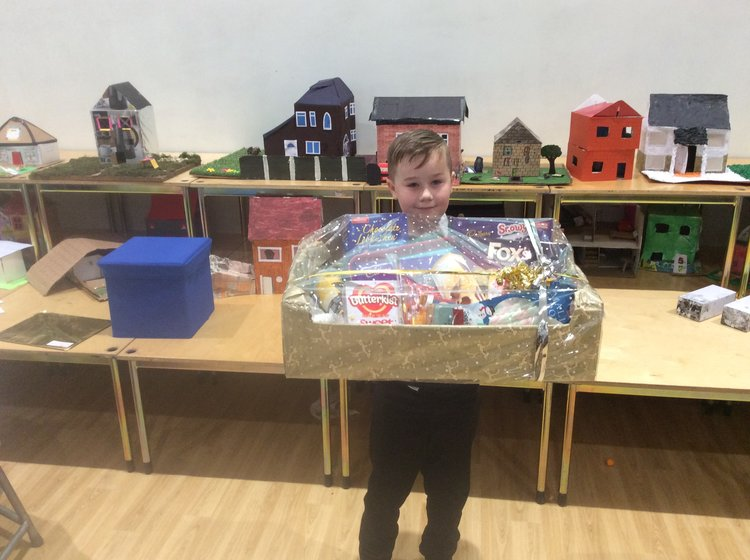 Congratulations to Kaymen who won the hamper for the parents evening questionnaire!