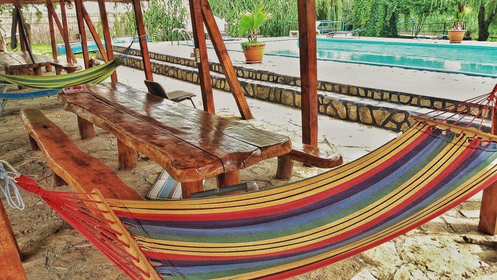 Loc de relaxare Pensiunea Delta Paradis    Foto credit: Gogosse Photography