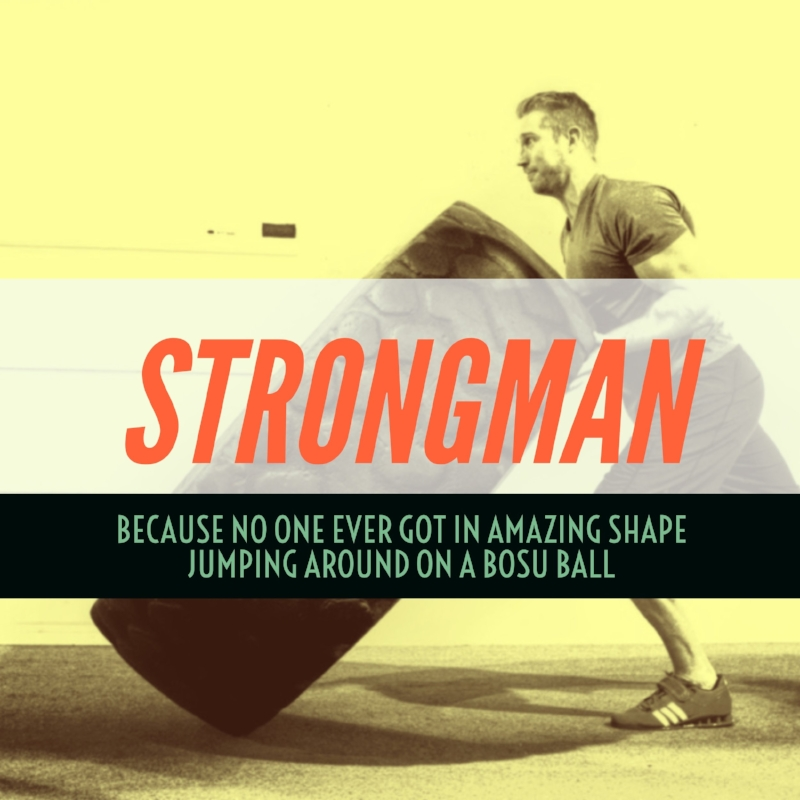 At the Elite Edge we utilize modified strongman training as a unique method to get people stronger and                                                               lose fat at the same time.
