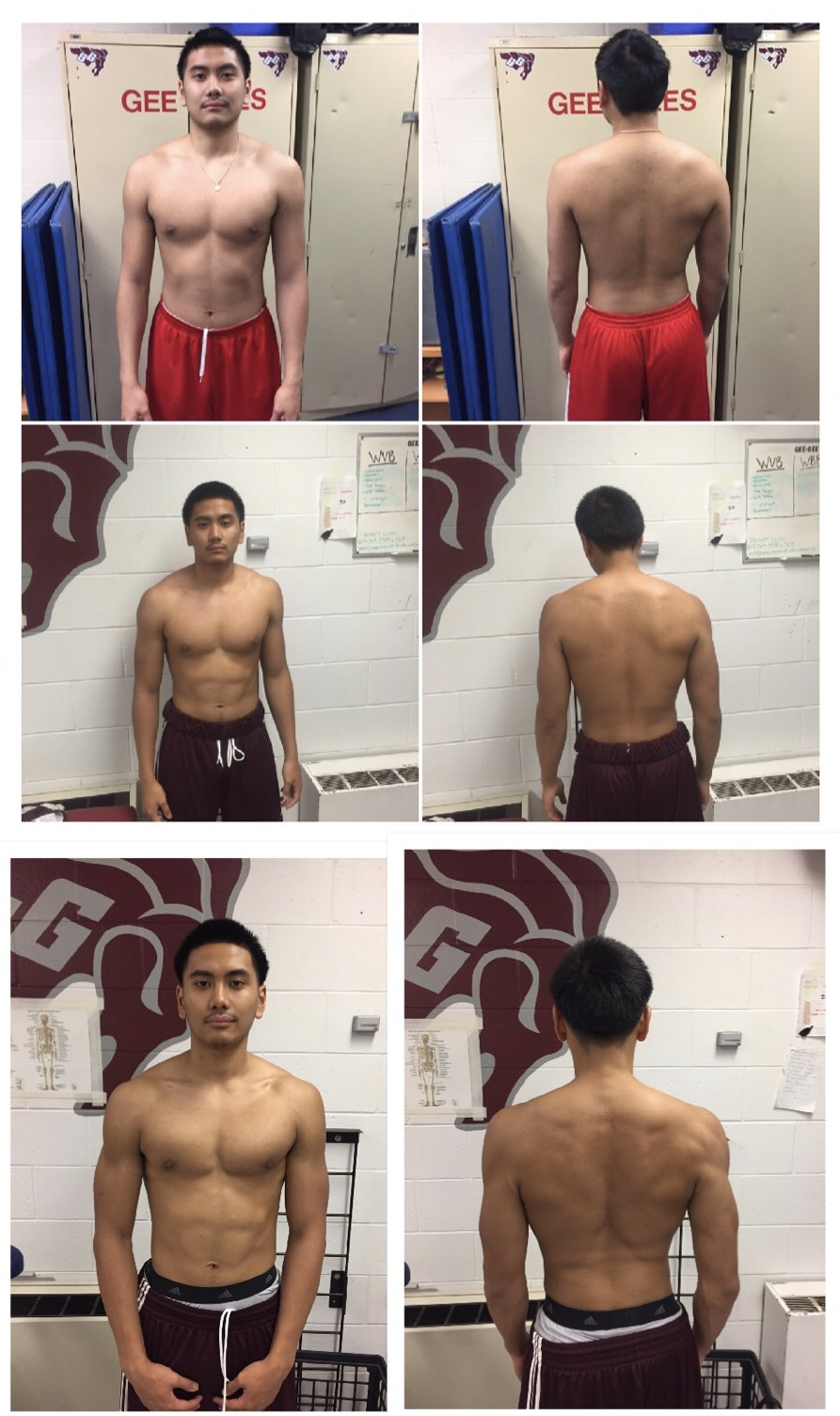 6 Week transformation of an Elite Edge athlete. 13lbs of muscle added, 3.5% body fat dropped. Not a                                                                       second of cardio done.