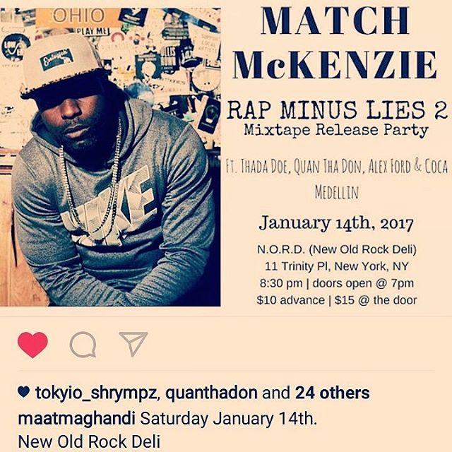 Mixtape Release Party X Rap Minus Lies 2... fea @quanthadon @thada_doe @llcoca_sbg @jacenemills #THEUNPOPULAR #SBG #LITTYGANG #RML2 #MAATARTISTMGMT #GBZ #LTI #MIAMI #NEWYORK #LA #ATLANTA #SQuA