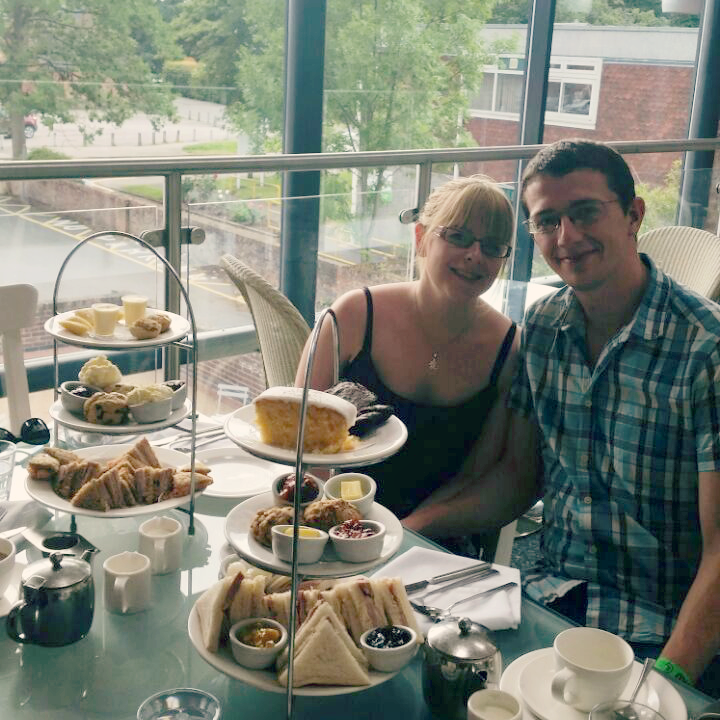 Afternoon Tea at the Opera Tea Rooms