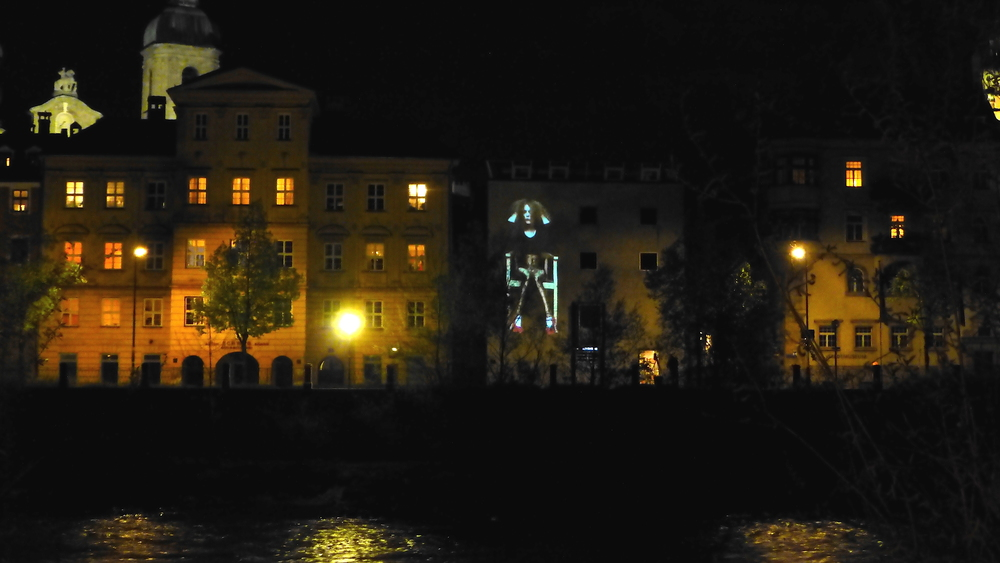 2014 - Video Installation In Public Art - Quadrulpa - Innsbruck