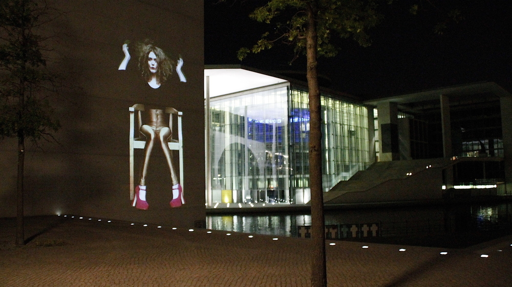 2014 - Video Installation In Public Art - Quadrulpa - Berlin