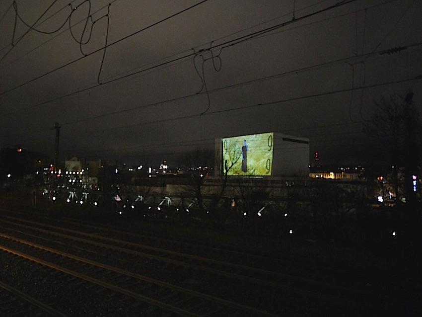 2017 - 2019 Schauspielhaus Wuppertal back - Public Art - Raster - Videoinstallation