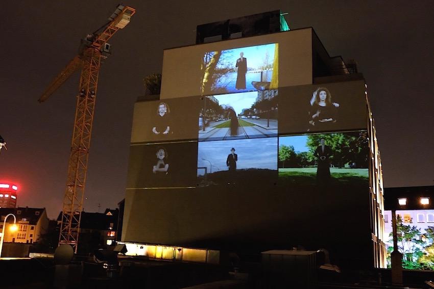 2019 Köln Am Eigelstein - Public Art - Raster - Videoinstallation