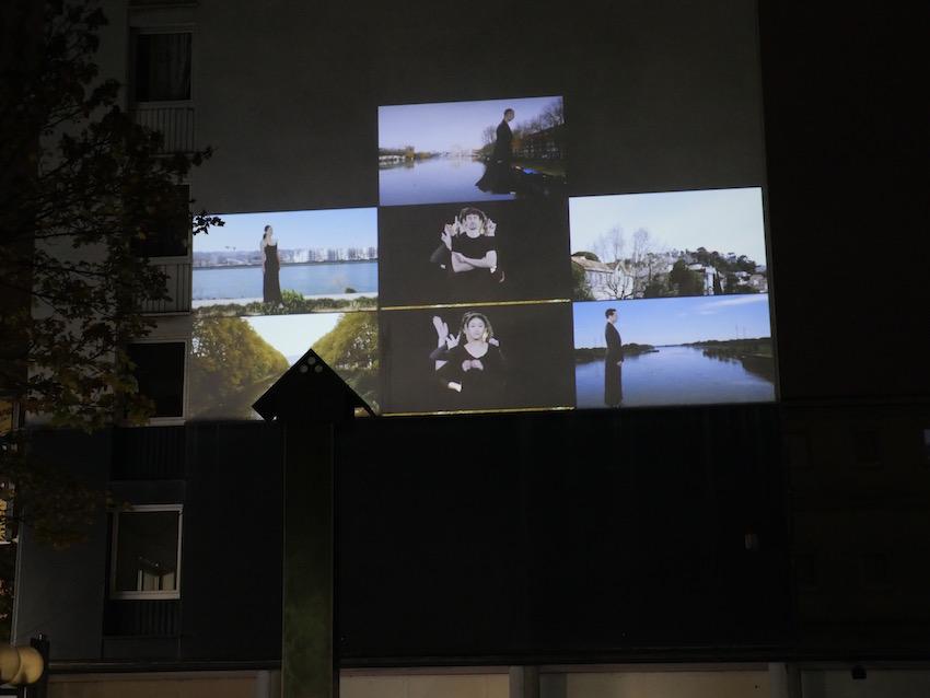 2018 Oberhausen Europa Haus - Public Art - Raster - Videoinstallation