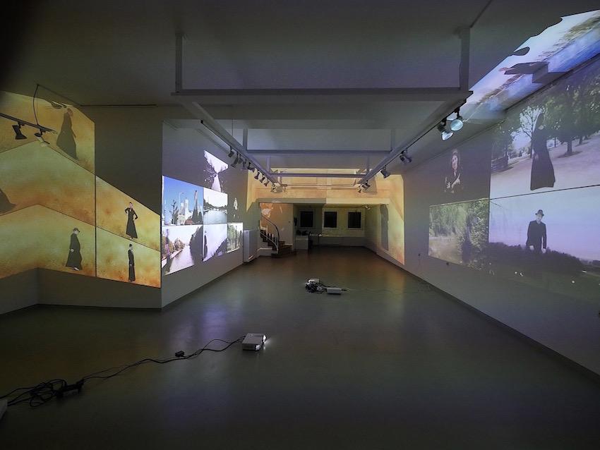 2018 Essen Galerie Gublia - Public Art - Raster - Videoinstallation