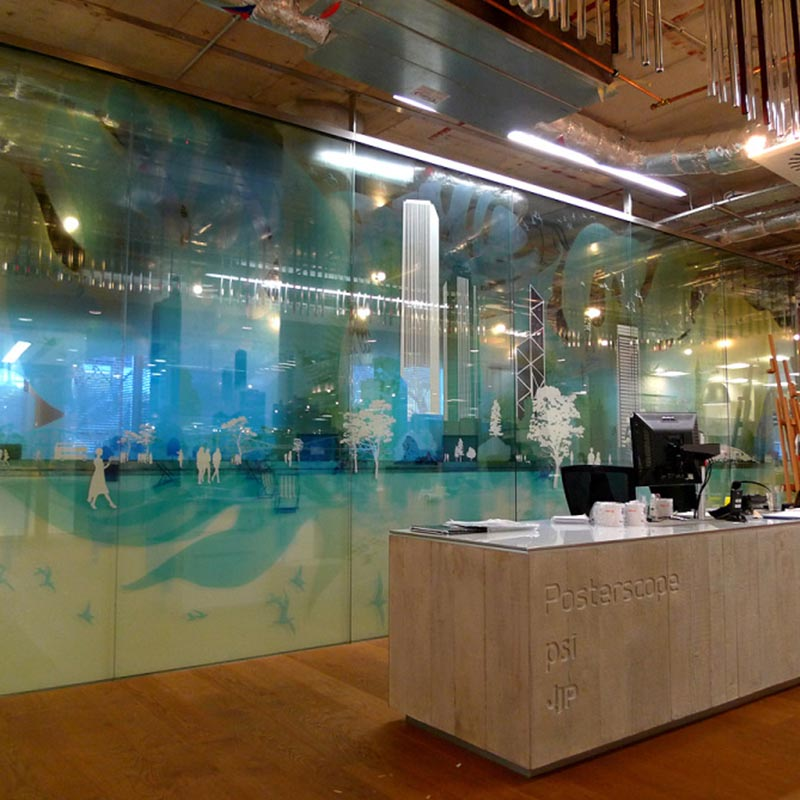 Office Glass Manifestation