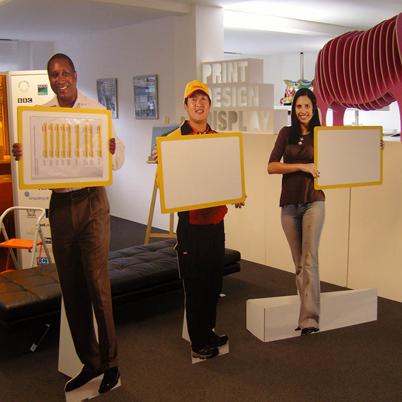 Promotional Lifesize cut-outs