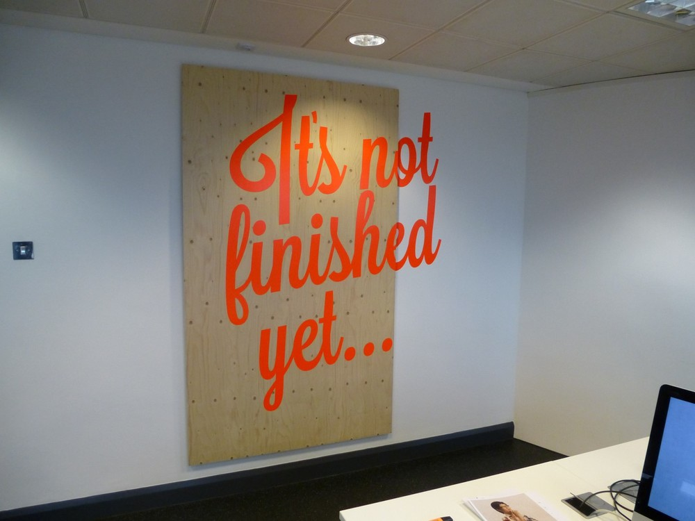 Vinyl Print - Office Graphics