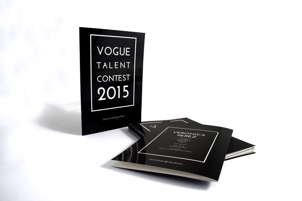 Vogue Talent Content A4 Brochure