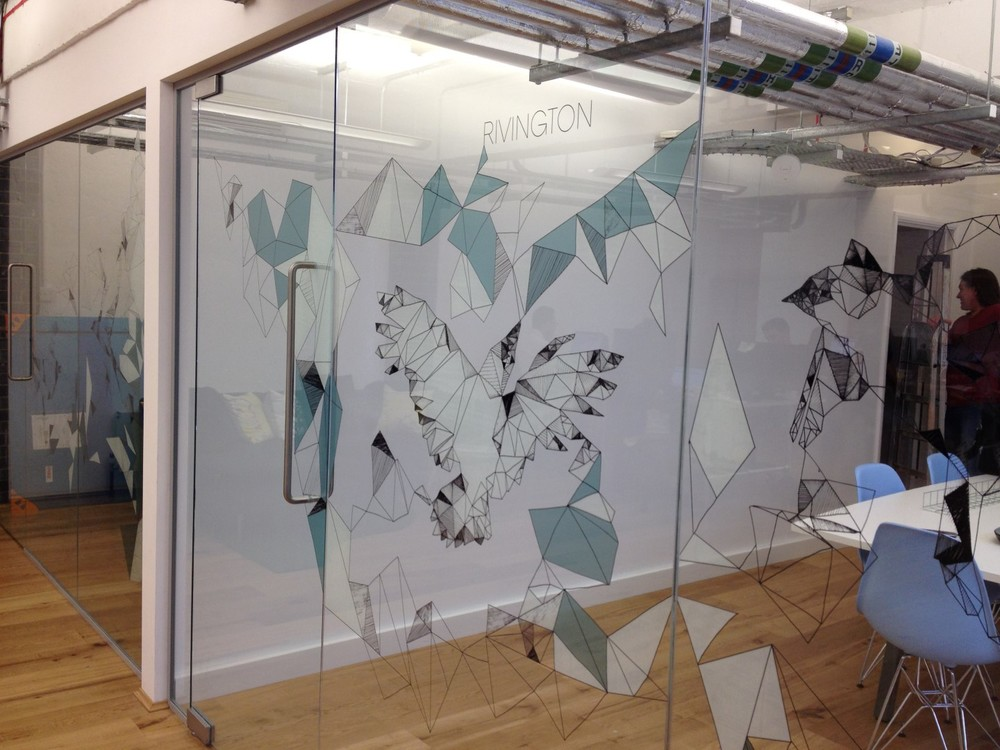 Window film window decals london clerkenwell mj group for Creative window designs