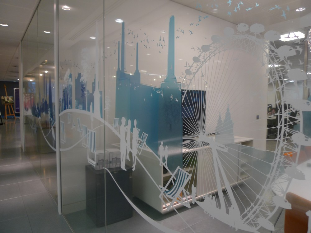 Window Office Interior Graphics