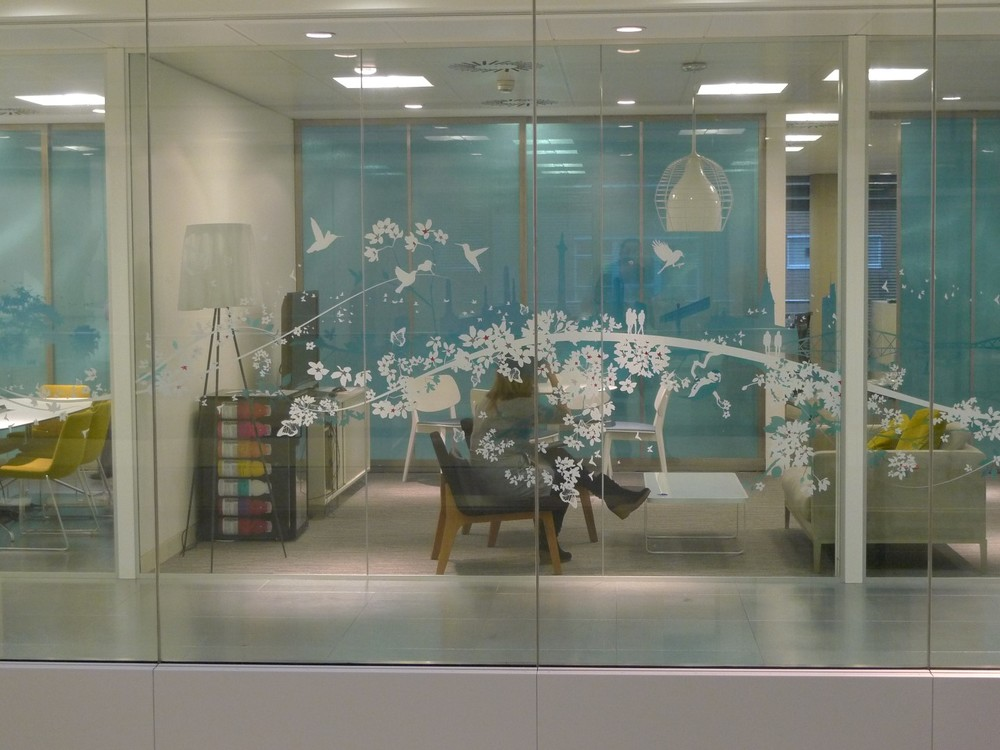 Glass Office Printed Designs