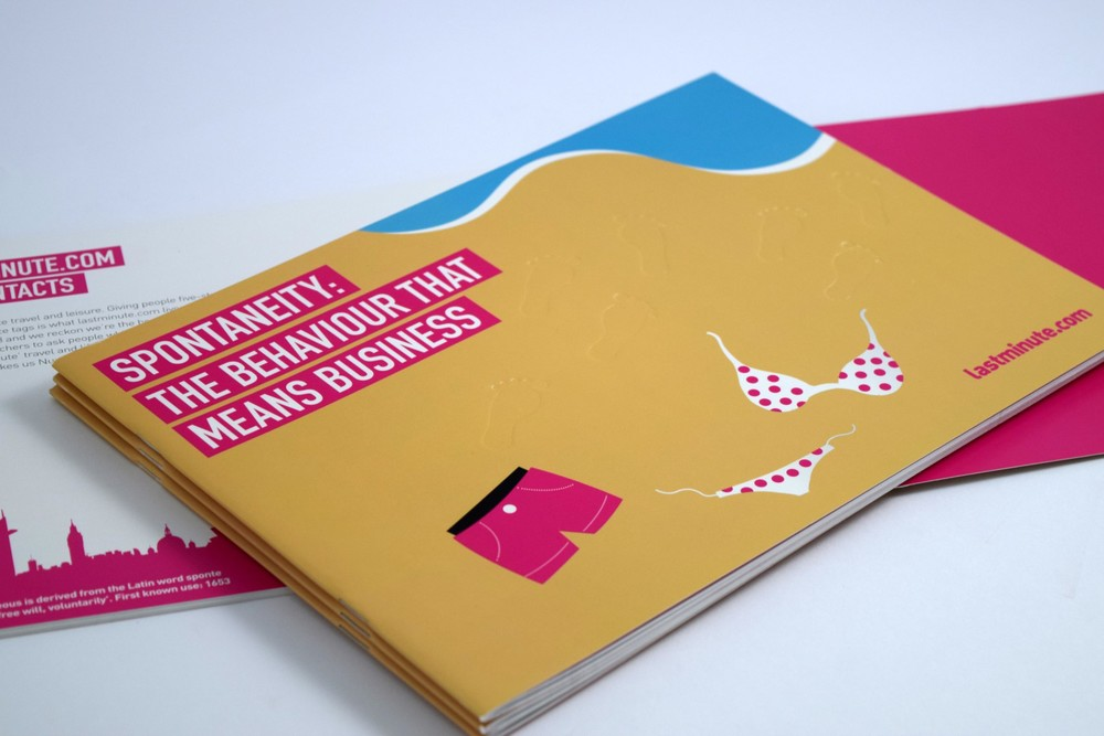 Booklets - Lastminute.com