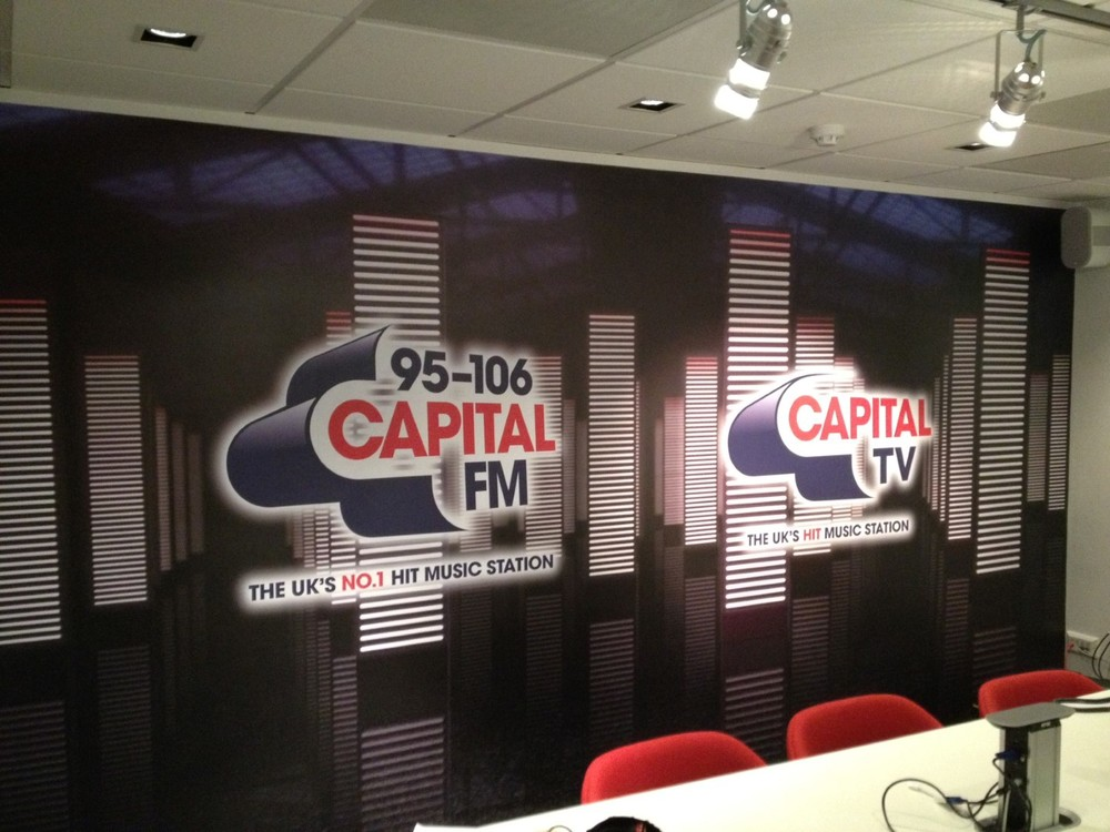 Capital FM Wall Mural