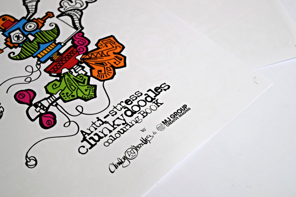 Clunkydoodles Colouring Book