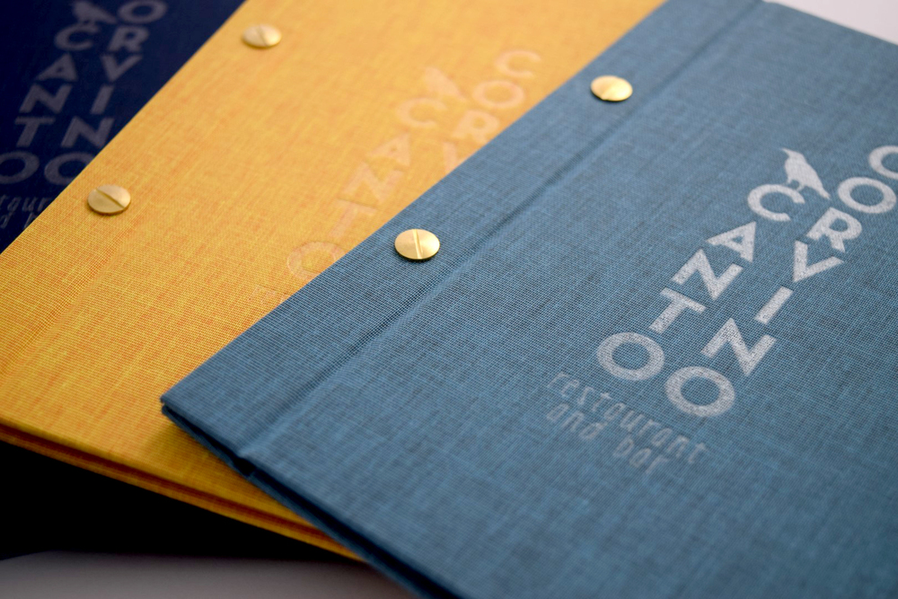 Bespoke Menu Covers